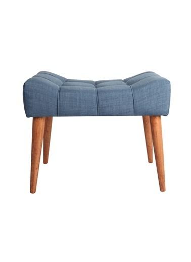 Ze10 Design New Cool Puf Gece Mavisi Mavi